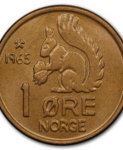 Norske Mynter etter 1874